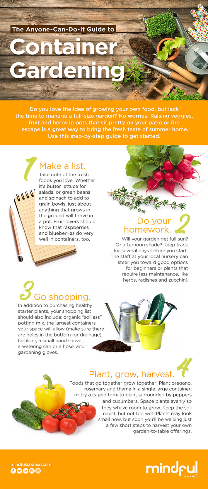 Container Gardening - Mindful by Sodexo