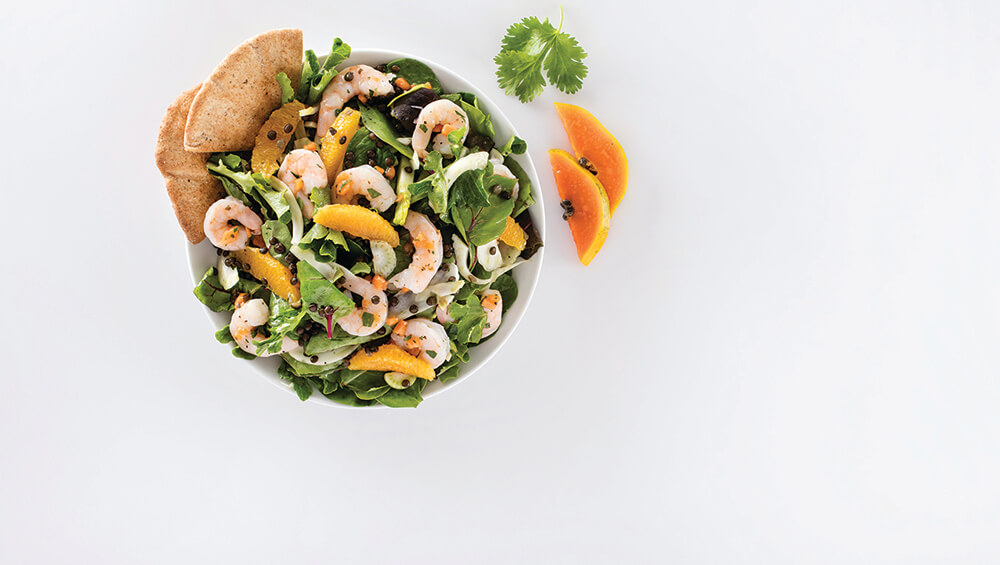 Shrimp Fennel Beluga Lentil Salad Mindful By Sodexo Recipes